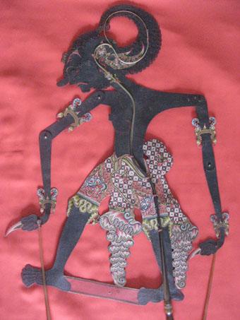 Werkudara with black body